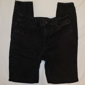 Maurice's High-rise Black Jeans-Size Large